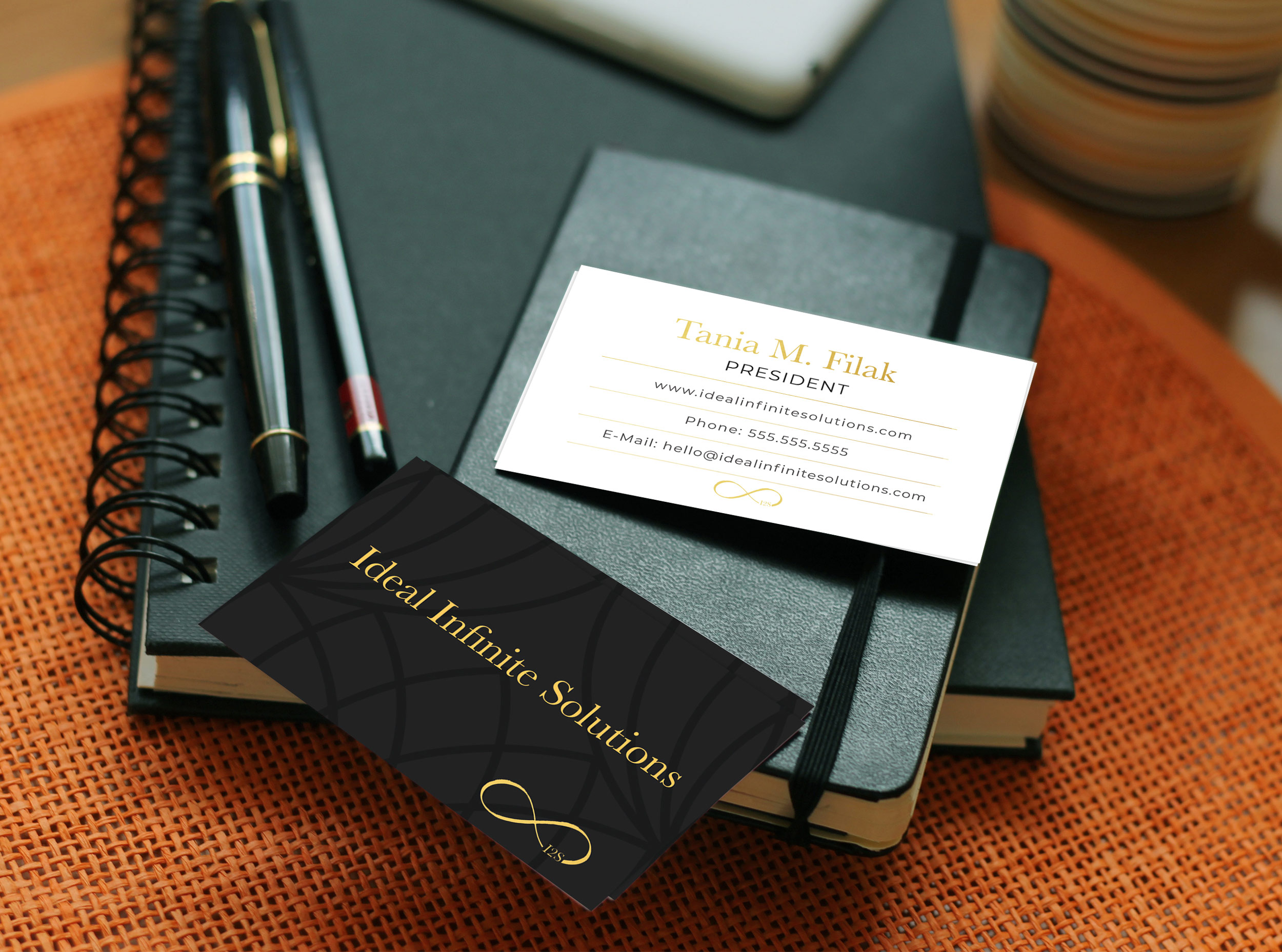 Ideal Infinite Solutions Business Cards